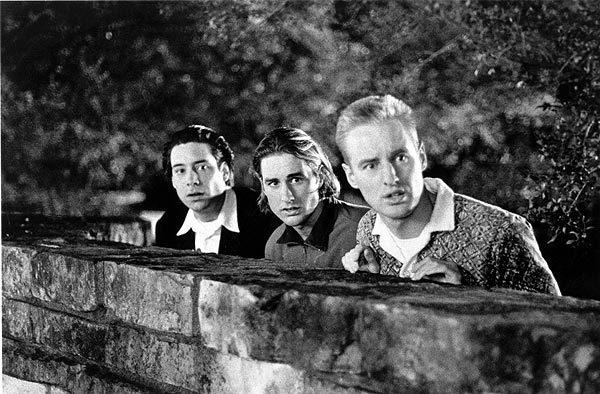 "Bob Musgrave, left, Luke Wilson and Owen Wilson in ""Bottle Rocket."""