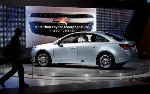 GM recalls nearly 500,000 Chevrolet Cruzes