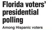 Graphic: Florida voters' presidential polling