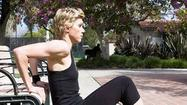 Try This! Tone upper arms with bench tricep dip