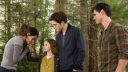 The Cullen family and Jacob