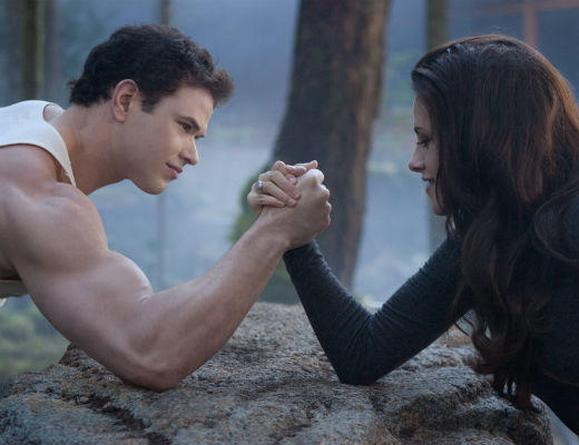 'The Twilight Saga: Breaking Dawn - Part 2' pictures: Emmett and Bella