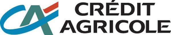 Official logo for major French bank Credit Agricole.