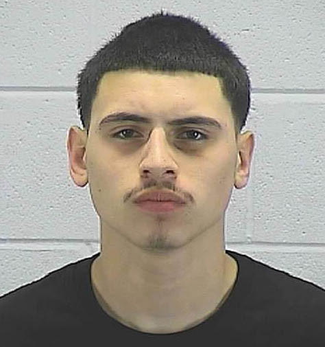 Abraham Salgado, 17, of Aurora, has been charged as an adult after allegedly leading police on a foot chase that ended with a standoff in an apartment building on Thursday.