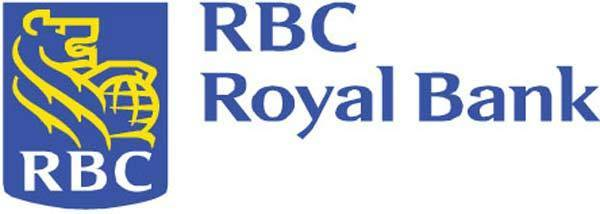 Official logo for major Canadian bank Royal Bank of Canada.