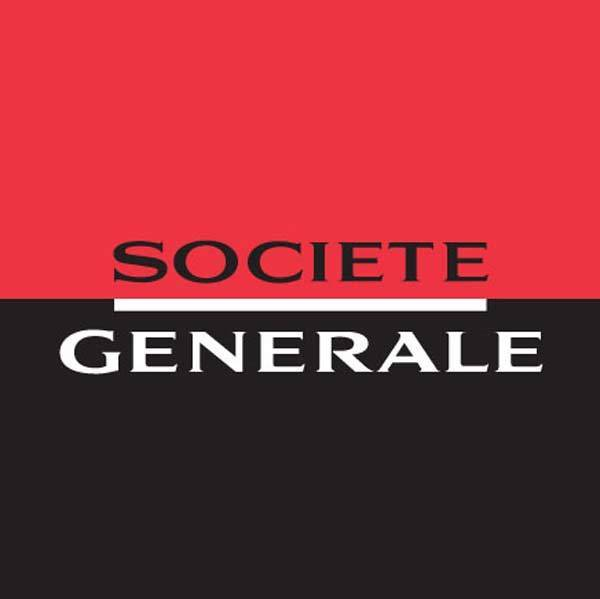 Official logo for major French bank Societe Generale.