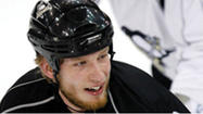 PITTSBURGH (AP) — The Pittsburgh Penguins didn't wait to negotiate a new contract with Jordan Staal, trading the center to the Carolina Hurricanes on Friday night for center Brandon Sutter, defenseman Brian Dumoulin and Carolina's first-round pick — the No. 8 selection.