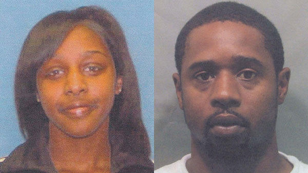 Gloria Woods, 16, and her father Larry D. Woods, 34. Larry is accused of killing his daughter Gloria.