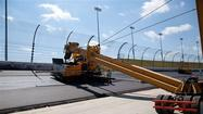 Photos: Kansas Speedway Repaving Project