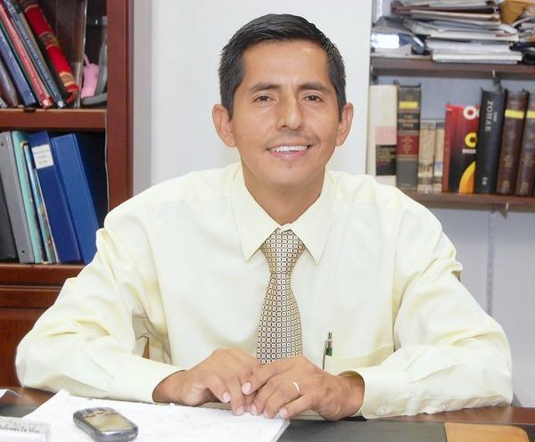 The Rev. Noe Juarez of Sunset Presbyterian Church, Fort Lauderdale.