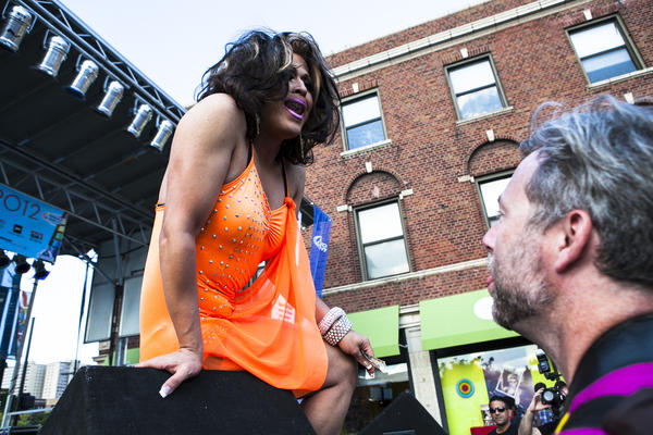 The Pride Drag Show continues throughout The Pride Fest in Boys Town on the ...