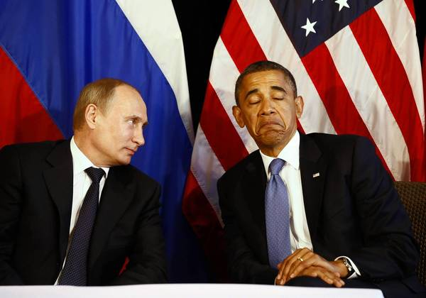 Watching President Barack Obama squirm next to Russian strongman Vladimir Putin recently, Obama avoiding eye-contact as they met to discuss Russian ambition and the catastrophe in Syria, you couldn't help but remember Hillary Clinton's campaign commercial about that 3 a.m. phone call.