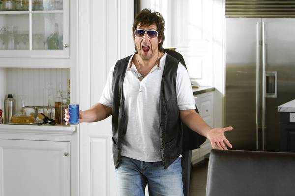 "Adam Sandler plays Donny Berger in ""That's My Boy."""