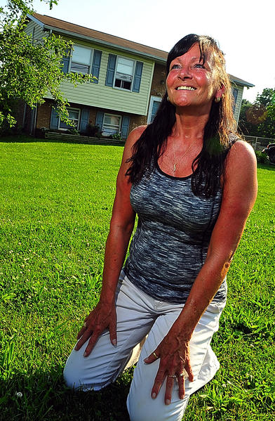 Patricia Marasa bought her Maugansville house because of a housing authority program that guided people from renting to home ownership.