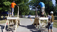 "<span style=""font-size: small;"">SOUTH BEND -- Jonathan Harms drove from St. Louis to compete Saturday</span><span style=""font-size: small;""> in a slalom skateboarding competition in South Bend.</span>"