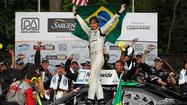 Nelson Piquet Jr. enjoyed a lot of firsts during the NASCAR Nationwide series Sargento 200 race weekend at Road America.
