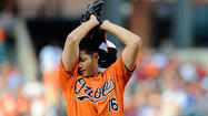 For Orioles starter Wei-Yin Chen, the line between good and great Saturday night was as thin as one strike. Chen was close, very close, to a very good outing and by most standards, Chen turned in a serviceable performance in the Orioles 3-1 loss to the Washington Nationals.
