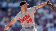 "<strong>June 25, 1997:</strong> For the second time in 27 days, the Orioles' Mike Mussina (9-2) flirts with a no-hitter before surrendering an eighth-inning single in a 9-1 victory over the Milwaukee Brewers. Earlier, in a 3-0 win over the Cleveland Indians, he had carried a perfect-game bid into the ninth before allowing a hit. ""I took a run at it. It didn't happen, again,"" Mussina said afterward. ""Maybe I'll get another chance."""
