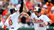 Matt Wieters' 2-run homer in the bottom of the 8th lifts Orioles to 2-1 win over Nationals