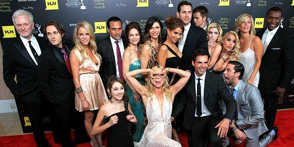 "The cast of ""General Hospital"" attends the 39th Daytime Emmy Awards."