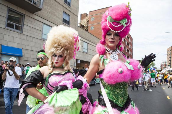 The PRIDE Parade!