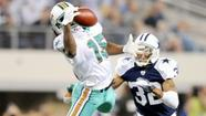 The competition in the Miami Dolphins' wide receiving corps was raised a few notches after the addition last week of <strong>Chad Ochocinco</strong> last week.