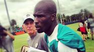 <strong>Chad Ochocinco</strong> has only been with the Miami Dolphins for a few weeks.