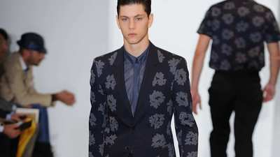 Milan Fashion Week: Calvin Klein spring-summer 2013