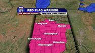 Red Flag Warning expires for Central Indiana