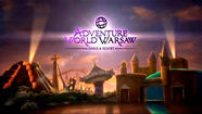 Adventure World Warsaw theme park in Poland