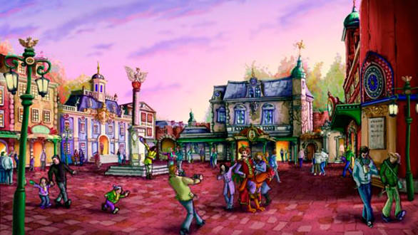 The year-round Old Poland land at Adventure World will be themed as a 17th and 18th century Polish town with a number of indoor attractions suitable for the winter months.