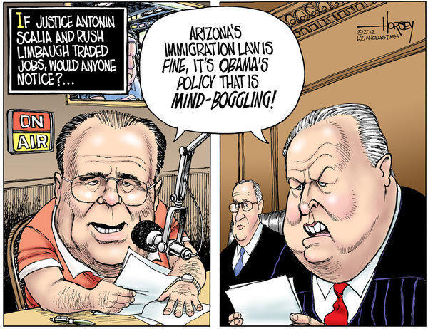 Antonin Scalia, Rush Limbaugh
