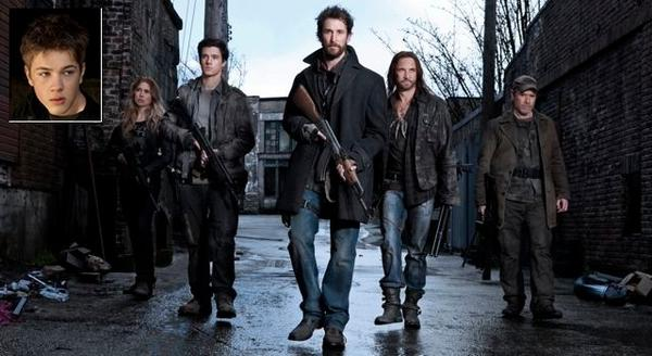 "Connor Jessup (inset), Sarah Carter, Drew Roy, Noah Wyle, Colin Cunningham and Will Patton will be part of the ""Falling Skies"" panel at San Diego Comic Con."