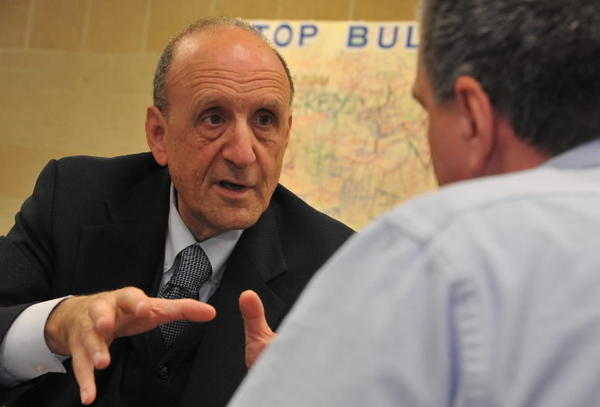 Anne Arundel County Executive John R. Leopold, gets a C-minus from local chapter of Maryland League of Conservation Voters.