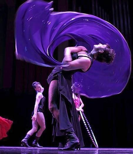 Nina Gilkenson, dancer and co-runs Pigtown's Mobtown Ballroom