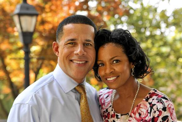 Maryland Lt. Gov. Anthony Brown and his wife, Karmen Walker Brown