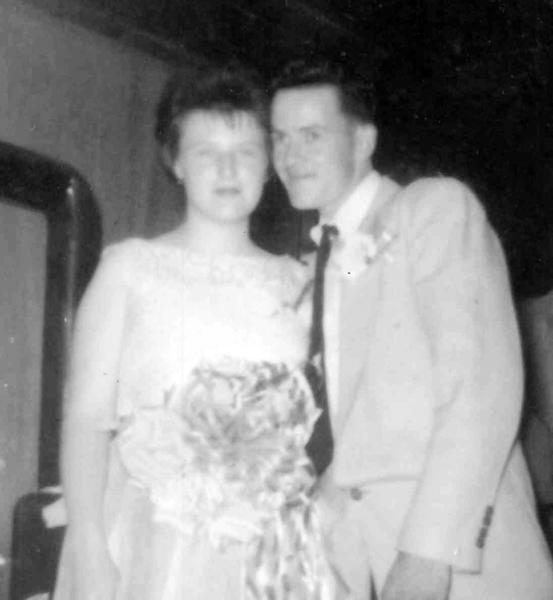 Mr. and Mrs. Richard Sutton, 1962