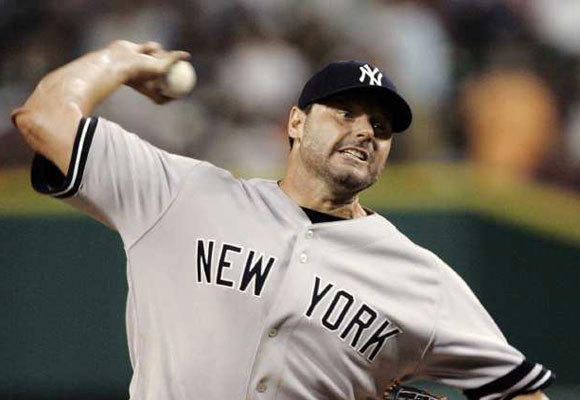 Roger Clemens with the New York Yankees in 2007.
