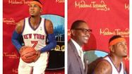 Pictures: Carmelo Anthony in wax at Madame Tussauds