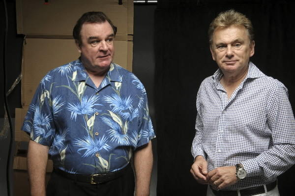 "Joe Moore, left, and Pat Sajak in ""The Odd Couple"" at the Harriet S. Jorgensen Theatre on the UConn campus."