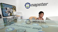 The debut of Napster