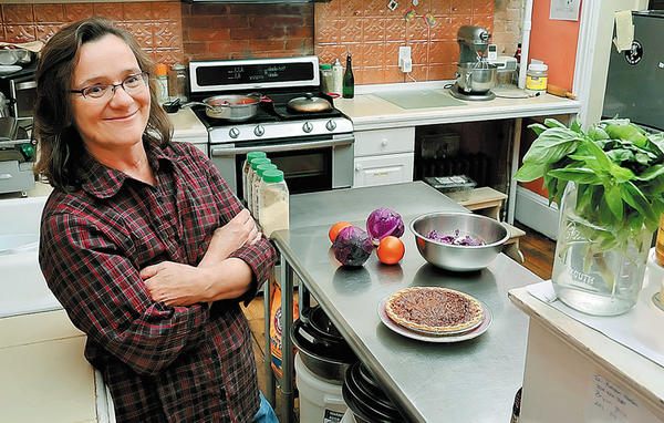 Pam Smith is owner of Good Natured Market & Vegetarian Cafe in Martinsburg.