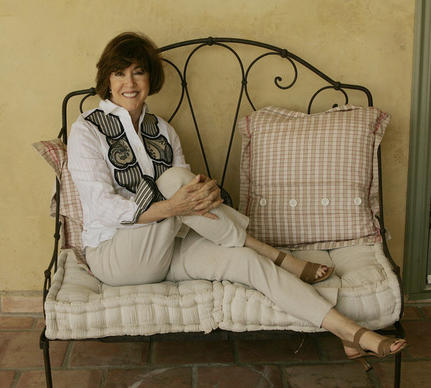 "Nora Ephron, the author-playwright-screenwriter-director, grew up in Beverly Hills and after establishing her career on the East Coast came back to Hollywood, writing and directing hit movies including ""Sleepless in Seattle,"" ""When Harry Met Sally..."" and ""Julie & Julia."" Her protagonists, which included the chef Julia Child and the whistleblower Karen Silkwood, were often women and just as typically as capable, if not more so, than the men around them. She was nominated for an original screenplay Oscar three times, and the films that she wrote and/or directed have grossed more than $700 million. Above, a portrait of Ephron taken at her Beverly Hills home in 2006. <style type=""text/css"">