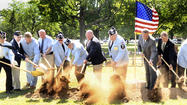 Not forgotten: Ground broken for monument to Korean War veterans
