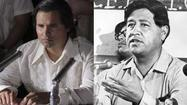 """Michael Pena stars as Cesar Chavez in the movie """"Chavez"""""""