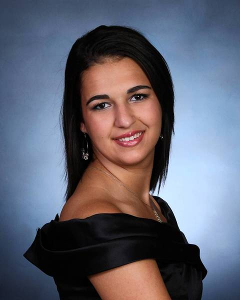 Samantha Acevedo is the valedictorian of the Class of 2012.