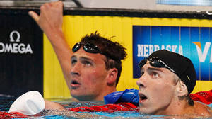 Lochte beats Phelps again, this time in 200 freestyle semifinals