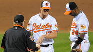 Matusz gives up career-high 13 hits