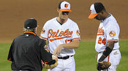 Brian Matusz had already allowed 11 hits through five innings of work Tuesday night, but Orioles manager Buck Showalter wanted to see if he could scrape one more inning out of his left-handed starter.