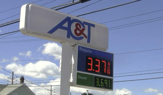 The AC&T station on Frederick Street had the cheapest regular grade gas among the stations the Herald-Mail visited Tuesday.